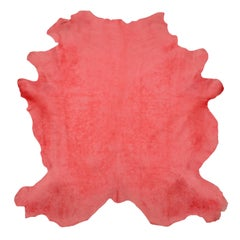 Watermelon Cowhide Rug