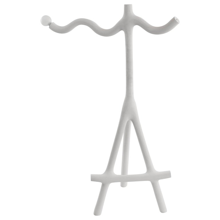 Wave and Sticks Lamp by HWE For Sale