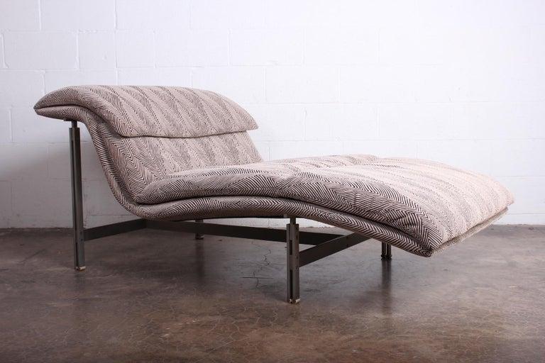 Wave Chaise by Giovanni Offredi for Saporiti Italia 5