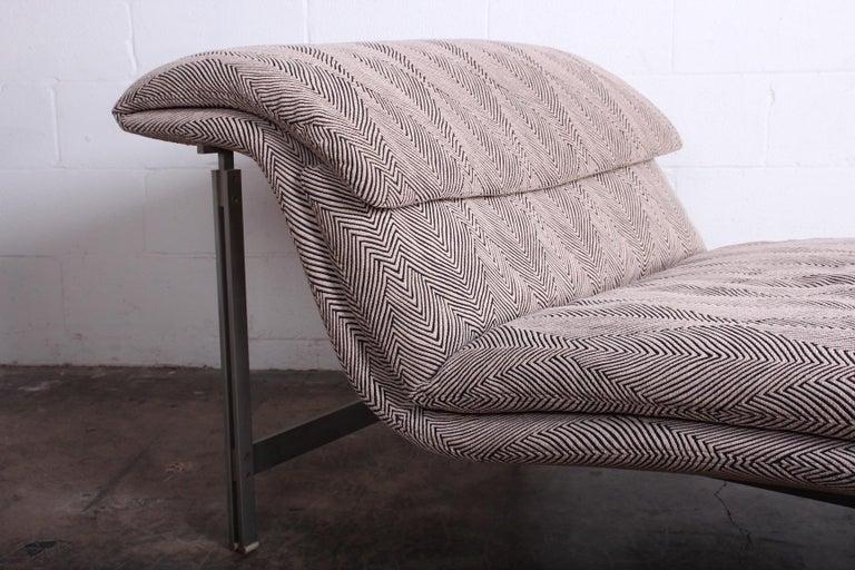 Wave Chaise by Giovanni Offredi for Saporiti Italia 10