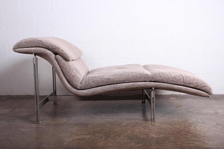 Wave Chaise by Giovanni Offredi for Saporiti Italia 11