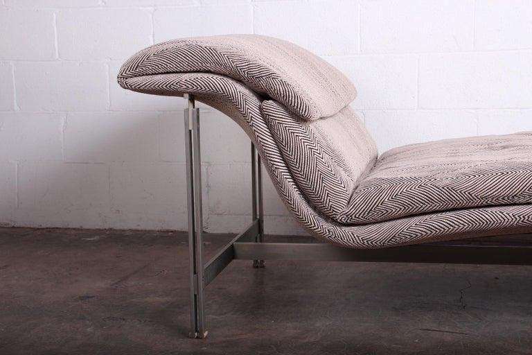 Wave Chaise by Giovanni Offredi for Saporiti Italia 12