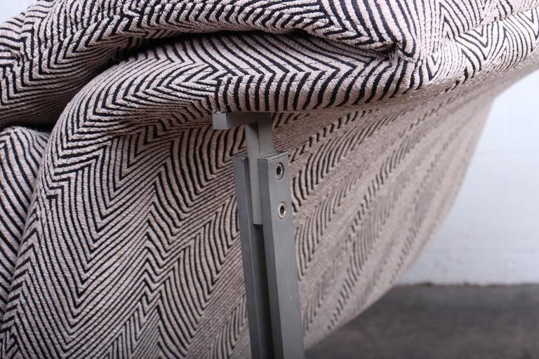 Wave Chaise by Giovanni Offredi for Saporiti Italia 2