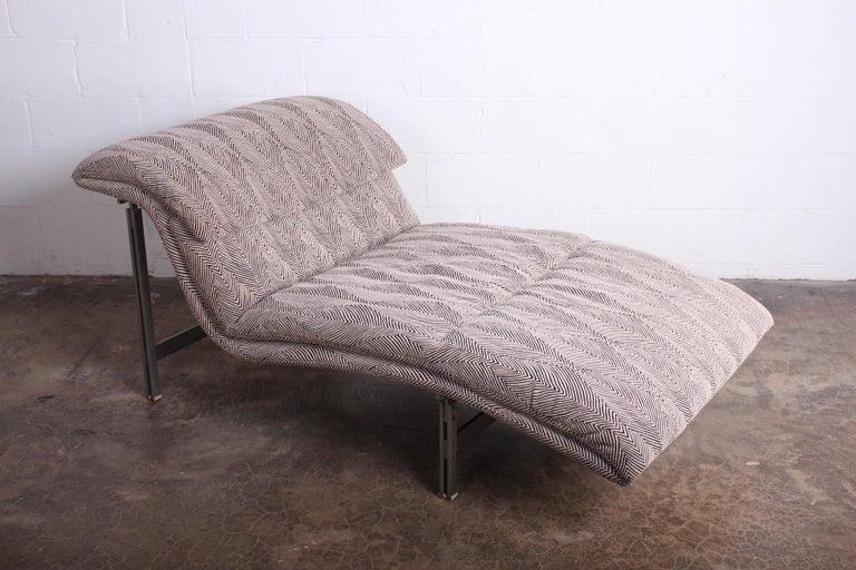 Wave Chaise by Giovanni Offredi for Saporiti Italia 4