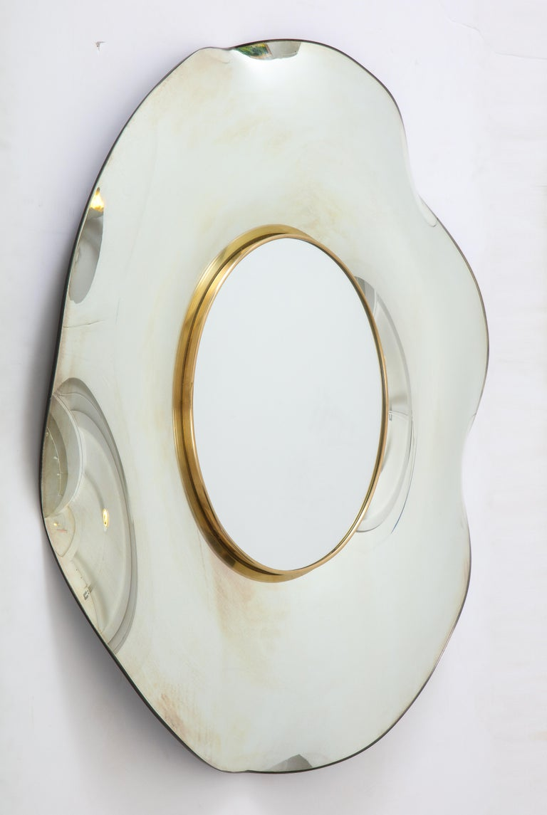 Wave Italian Mirror by Ghiró Studio For Sale 6