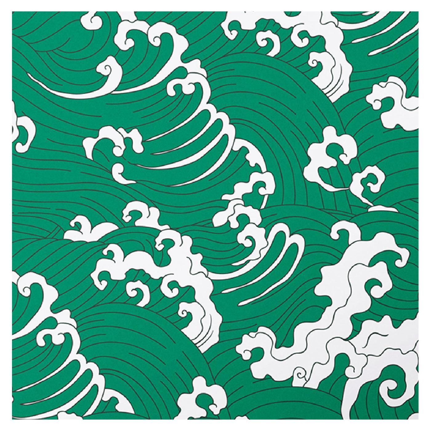Waves Green Panel