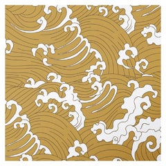 Waves Yellow Panel