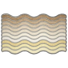 Wavy Rug Desert Hand Tufted Carpet