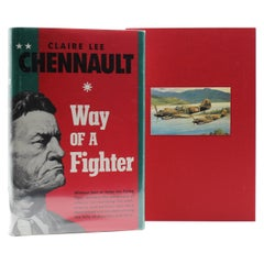 Way of a Fighter by Claire Lee Chennault, Signed Limited Edition