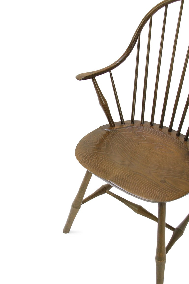 The Wayland Elbow chair is a quintessential dining chair for the contemporary dweller. It has a modest gesture of an arm, without the intrusiveness of one. The Wayland Line is our most extensive design family, offering side chairs, armchairs, dining