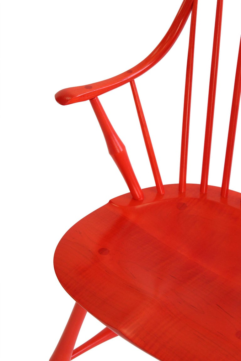 American Wayland Elbow Chair, Contemporary Windsor Chair For Sale