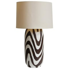 Waylande Gregory Zebra Table Lamp