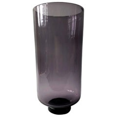 Wayne Husted for Blenko Amethyst Hand Blown American Modernist Vase