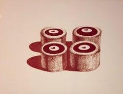 Cherry Cakes (Recent Etchings II)