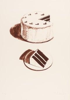 Chocolate Cake, Wayne Thiebaud