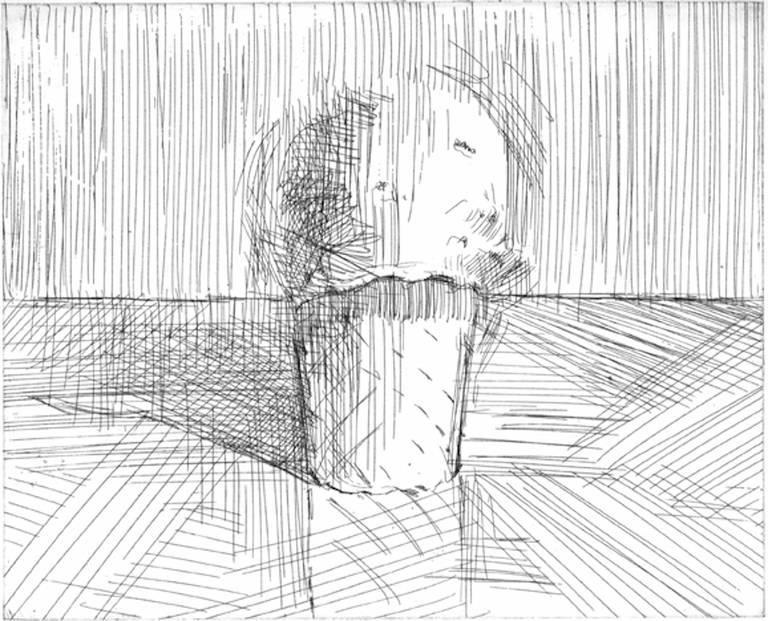 Wayne Thiebaud Still-Life Print - Cone