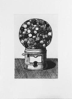 Dark Gumball Machine, Wayne Thiebaud