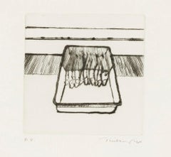 'Fish' Drypoint Print, Signed Artist's Proof