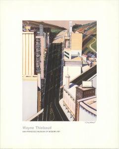 "Sunset Streets SIGNED 40"" x 32"" Giclee 1985 Pop Art Neutral"