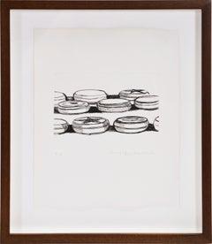 Wayne Thiebaud, Untitled, Etching, 1962