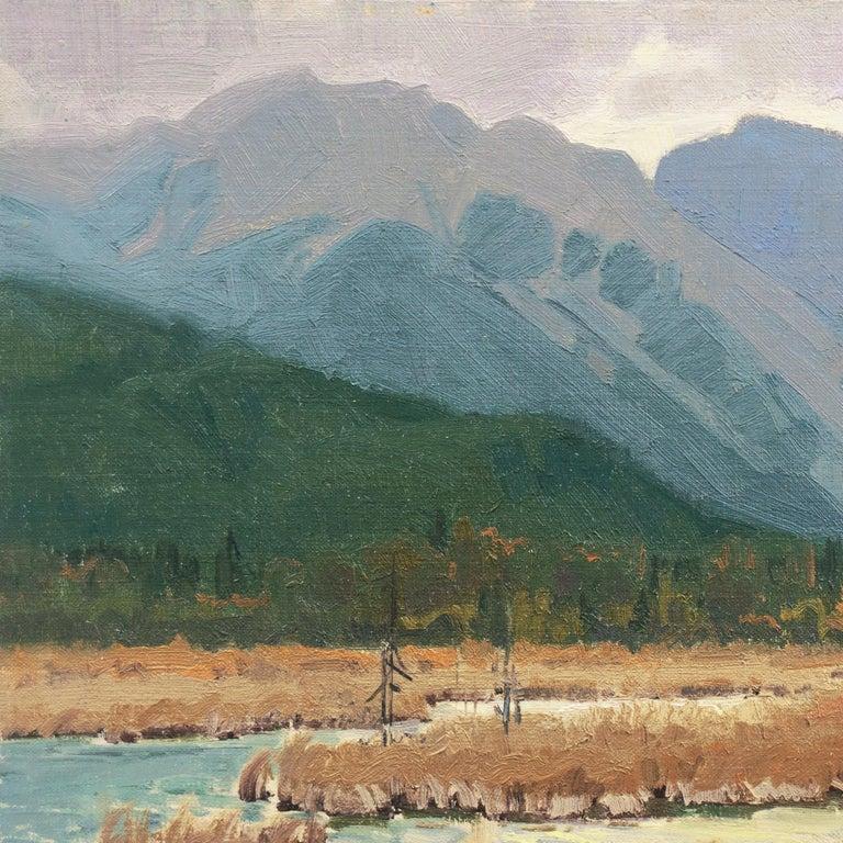 'Elk Grazing, Rocky Mountains', Colorado, Prix de West, Gilcrease Museum For Sale 1