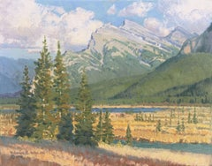'Mt. Rundle, Canada', Alberta, Prix de West, National Academy of Western Art