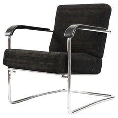 WB21 Lounge Chair Werner Max Moser for Embru Wohnbedarf Zurich, Switzerland 1935