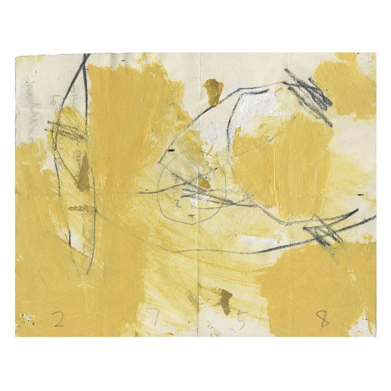 """""""WD2758 Mona"""" Abstract Art by M. P. Landis, Warehouse Drawing Series For Sale"""