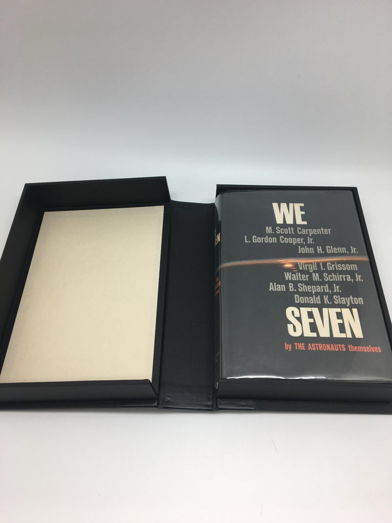 American We Seven by The Astronauts Themselves, Signed, Book Club Edition, 1962 For Sale
