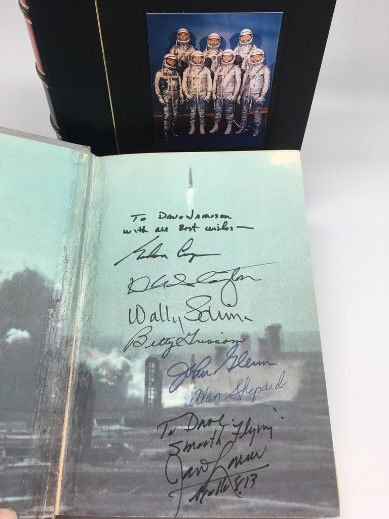 Mid-20th Century We Seven by The Astronauts Themselves, Signed, Book Club Edition, 1962 For Sale