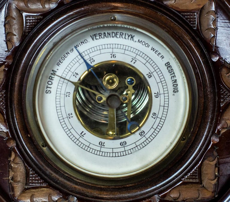 Weather Station from the 1930s In Good Condition For Sale In Opole, PL