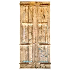 Weathered Barn Doors