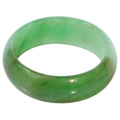 Wedding Band Carved from Jade