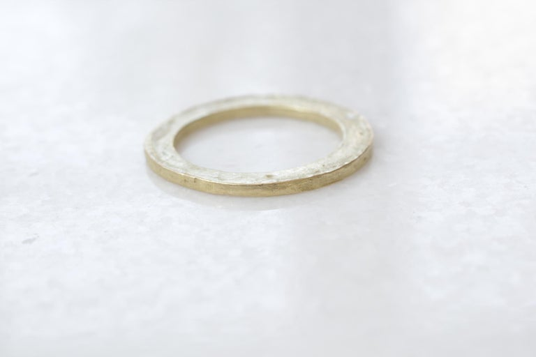 Modern Sterling Silver Wedding Band or Stacking Fashion Ring More Design for Men Women For Sale