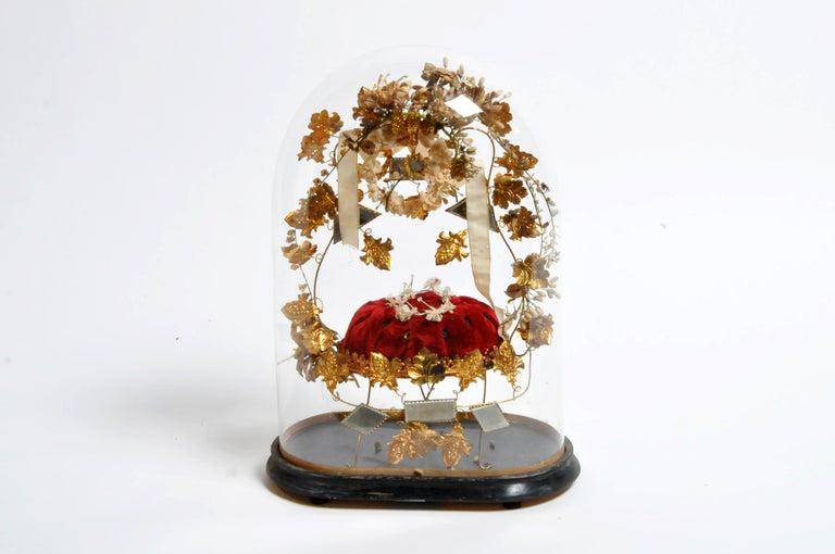 20th Century Wedding Cloche For Sale
