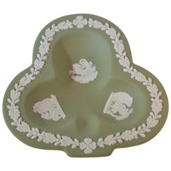 Wedewood Green Clover Tray