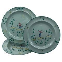 Wedgwood Apprey Celadon Place-Setting Plates