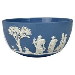 "Wedgwood Blue Jasperware ""Sacrifice"" Bowl"