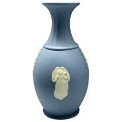 Wedgwood Blue Porcelain Vase