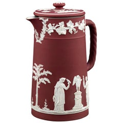 Wedgwood Crimson Covered Jug