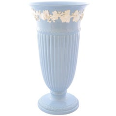 Wedgwood Embossed Queen's Ware Vase