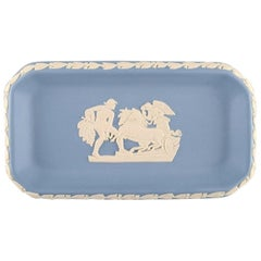 Wedgwood, England, Small Dish in Light Blue Stoneware, circa 1930