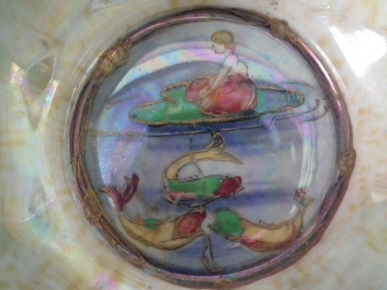 Wedgwood Fairyland Lustre 'Firbolgs' Antique Centre Bowl For Sale 2