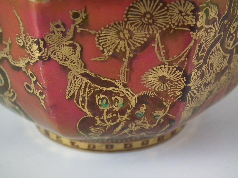 Wedgwood Fairyland Lustre 'Firbolgs' Antique Centre Bowl For Sale 7