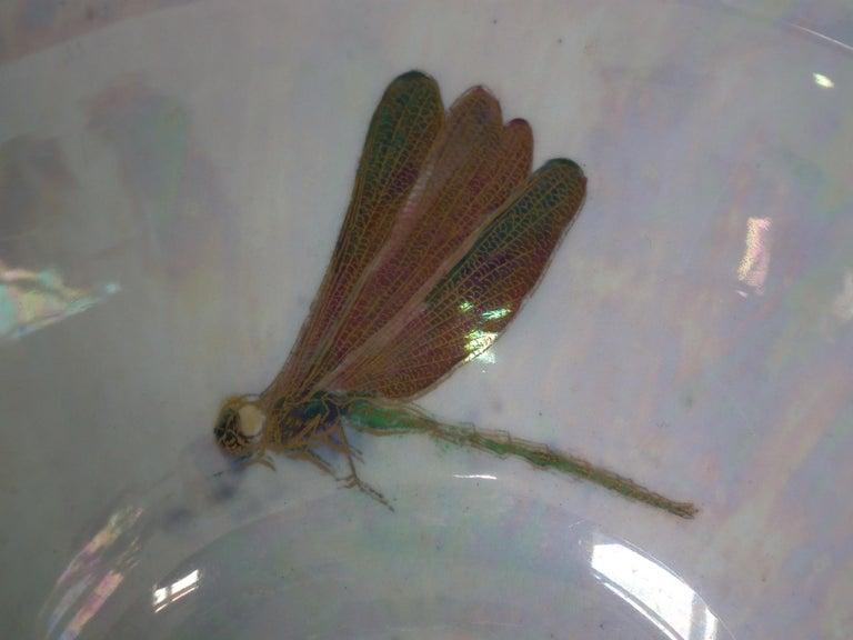 Glazed Wedgwood Fairyland Lustre 'Firbolgs' Antique Centre Bowl For Sale