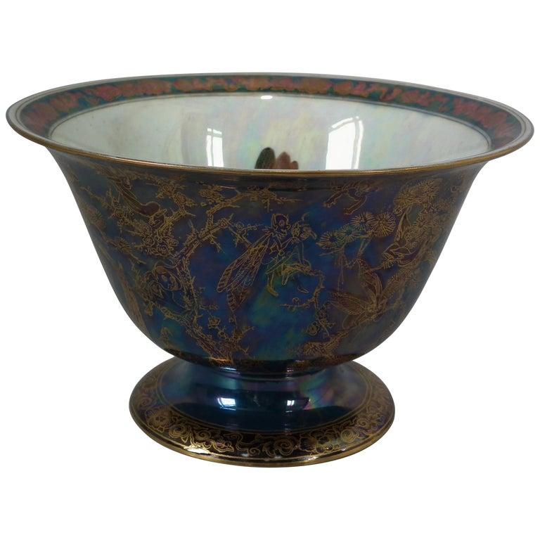 Wedgwood Fairyland Lustre 'Firbolgs' Antique Centre Bowl For Sale