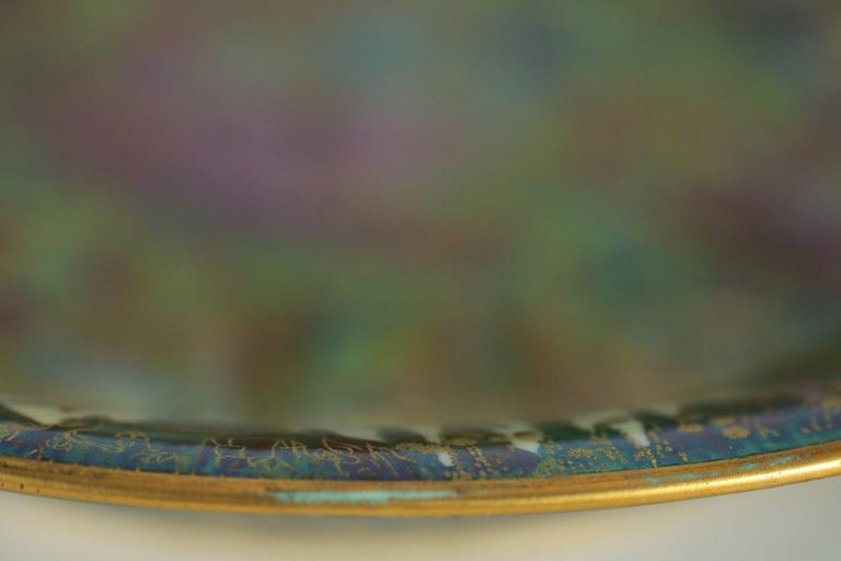 Wedgwood Fairyland Lustre Garden of Paradise Lily Tray For Sale 10