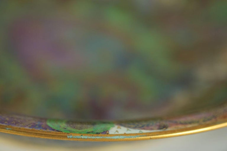 Wedgwood Fairyland Lustre Garden of Paradise Lily Tray For Sale 11