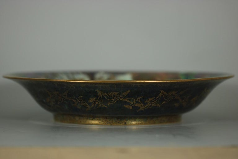 Wedgwood Fairyland Lustre Garden of Paradise Lily Tray For Sale 12