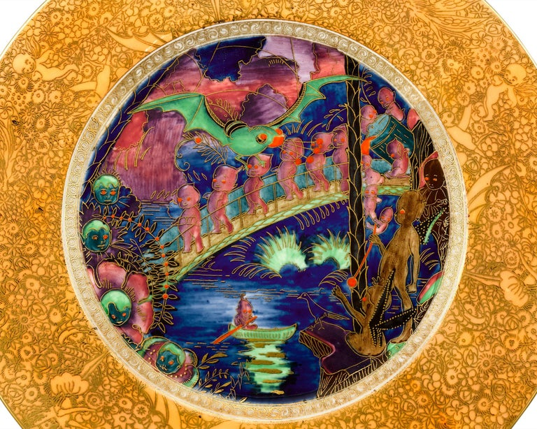 Other Wedgwood Fairyland Lustre Plate For Sale